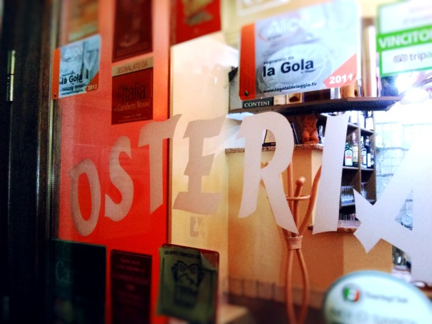 ingresso osteria borello ristorante Gavoi Nuoro Sardegna