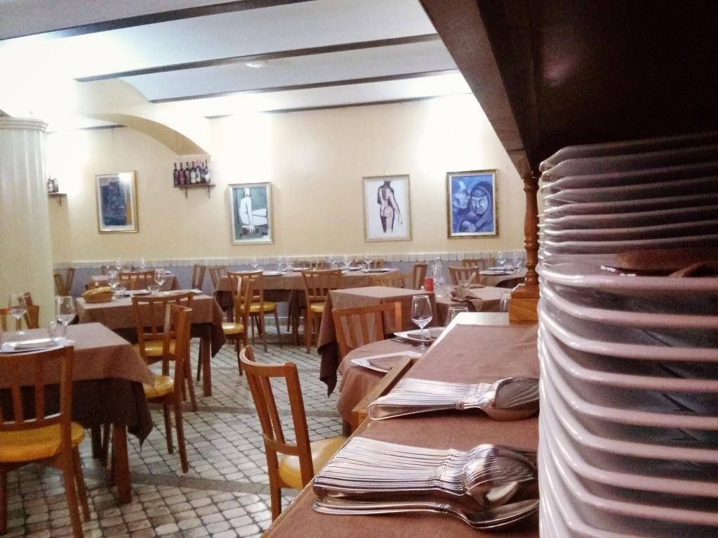 La sala osteria borello ristorante Gavoi Nuoro Sardegna