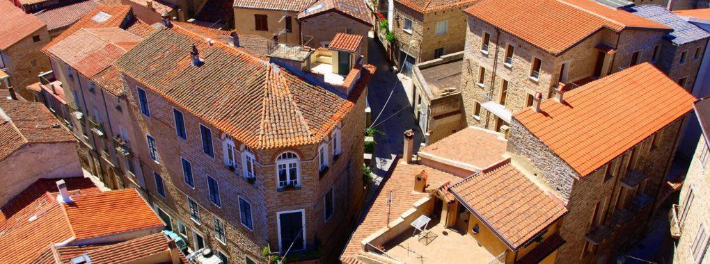 Gavoi - centro storico Sardegna